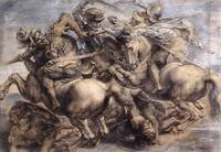 The Battle of Anghiari Rubens Detail 1
