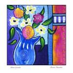 """Bistro Floral Lavender"" by wasankari"