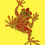 """Tree Frog - Tropical Baroque Series"" by savanna"