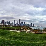 """Chicago Skyline II"" by rhythmandcode"