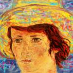 """Van Gogh Style Woman With Red Hair"" by colvin2007"