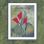 """calla lily poster"" by Barbara"