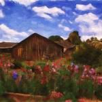 """""""Flower Barn"""" by Bracco"""