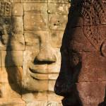 """""""Faces of Bayon"""" by lesleywilliamson"""