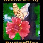 """Distracted by Butterflies 04167 Impasto Image"" by quotes"