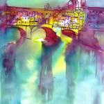 """Ponte Vecchio-Florence"" by BulganLumini"