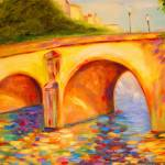 """FRANCE: Pont Marie in Paris"" by phoenixwmn"