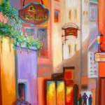 """ITALY: Venetian Alley At Twilight"" by phoenixwmn"