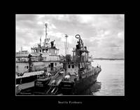 Seattle Fireboats Black & White
