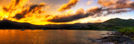 Airlie Beach Sunrise Close Up