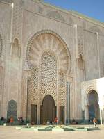 A mosque in Marrakesh,Morocco