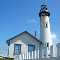 Pigion Point Lighthouse Art Prints & Posters by Bob Fike