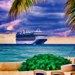 """At Anchor Off Eleuthera"" by DigiPix"