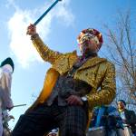 """Asheville Mardi Gras - King Dude"" by visioncache"