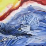 """Blue_Heron #2"" by KerryB"