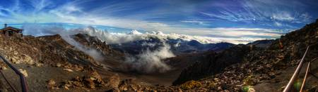 From the Rim of Haleakala Crater