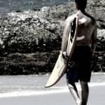 """Alex Surfing, Snapper Rocks Gold Coast"" by EleneKyranakos"