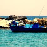 """Fishing Boat, Skyros Greece"" by EleneKyranakos"