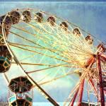 """edinburgh ferris wheel"" by outofthebox"