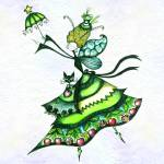 """Marostica, FantaFairy of the Cherries"" by FantaFairies"