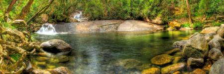 Josephine Falls bottom Swimming Hole