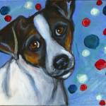"""Portrait of a Jack Russell Terrier"" by artbyangie"