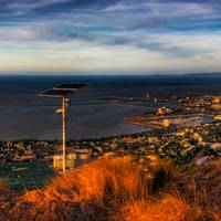 Townsville Sunset Over City Art Prints & Posters by Peter Gray