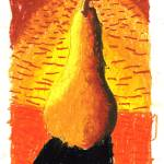 """Hollis Zeng 5- Pear"" by sabahkinderart"