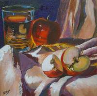 Apples and Glass #1 - Completed
