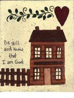 be still and know that I am God Cabin