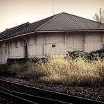 """Vintage Railroad station"" by starrienight"