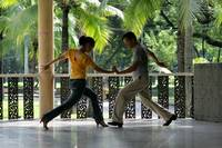 Paso Doble under the palms