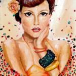 """Confetti Pinup"" by FizzyArtist"