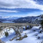 """Rainbow Bridge at Donner Summit"" by markeloperphotography"
