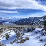 """Rainbow Bridge at Donner Summit"" by markeloperphotography"
