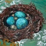 """Birds Nest1"" by FizzyArtist"