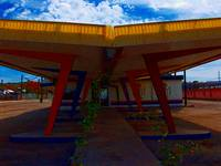 Old Diner at Gallup, New Mexico