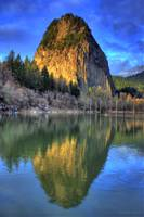 0023 Beacon Rock Reflections