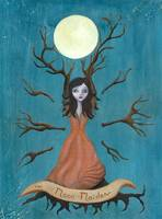 The moon maiden