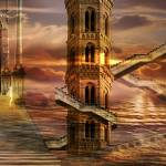 """Ethereal towers"" by sattva"