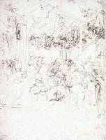 Design for the Adoration of the Magi