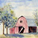 """Big Red Barn"" by sthieme"