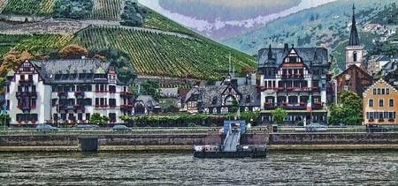 Along the River Rhine
