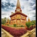 """Wat Chalong @ Phuket (Thailand)"" by eric-rousset"