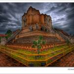 """Temple of Wat Chedi Luang @ Chiang Mai (Thailand)"" by eric-rousset"