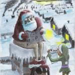"""""""Santa crappin"""