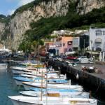 """boats in capri"" by emilymcalpine"