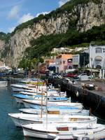 boats in capri