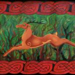 """Celtic Stag"" by FTMcKinstry"