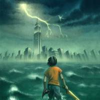 """The Lightning Thief - Percy Jackson Book Cover"" by roccoart"